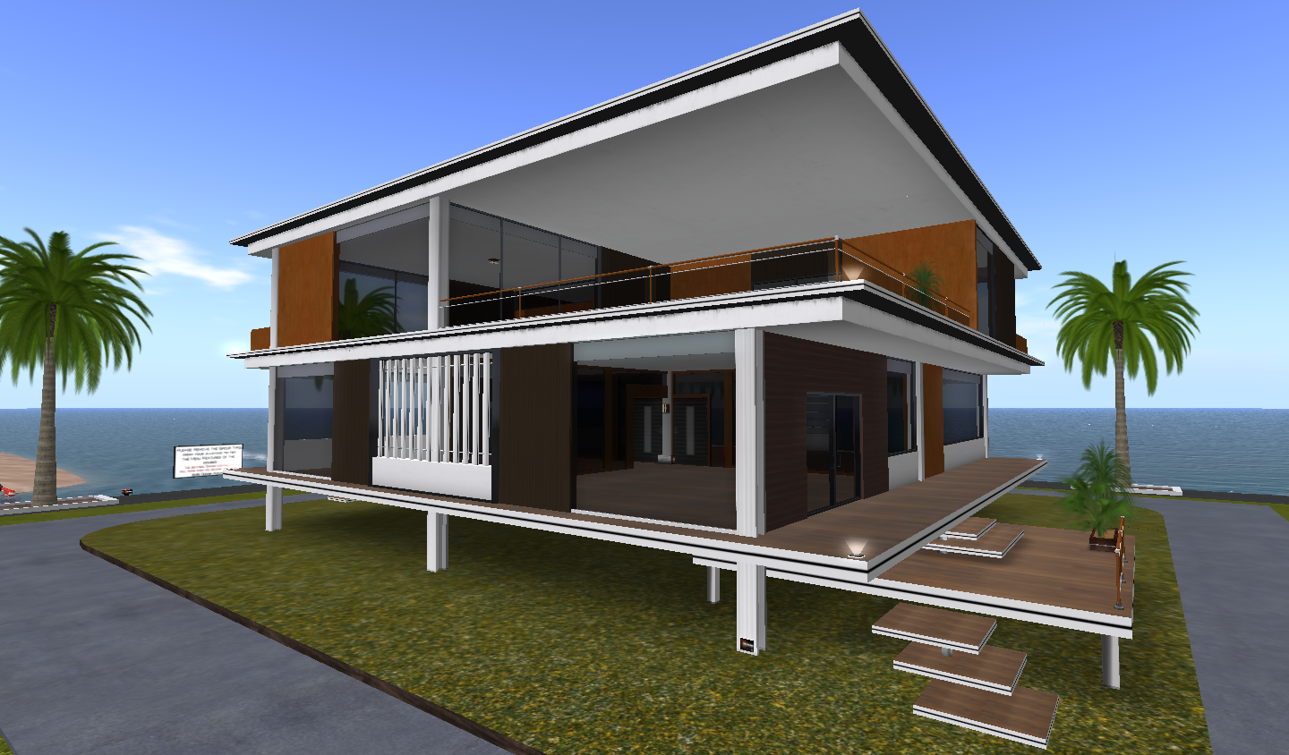 Expol villa modern architectural design bobz design for Architecture and design